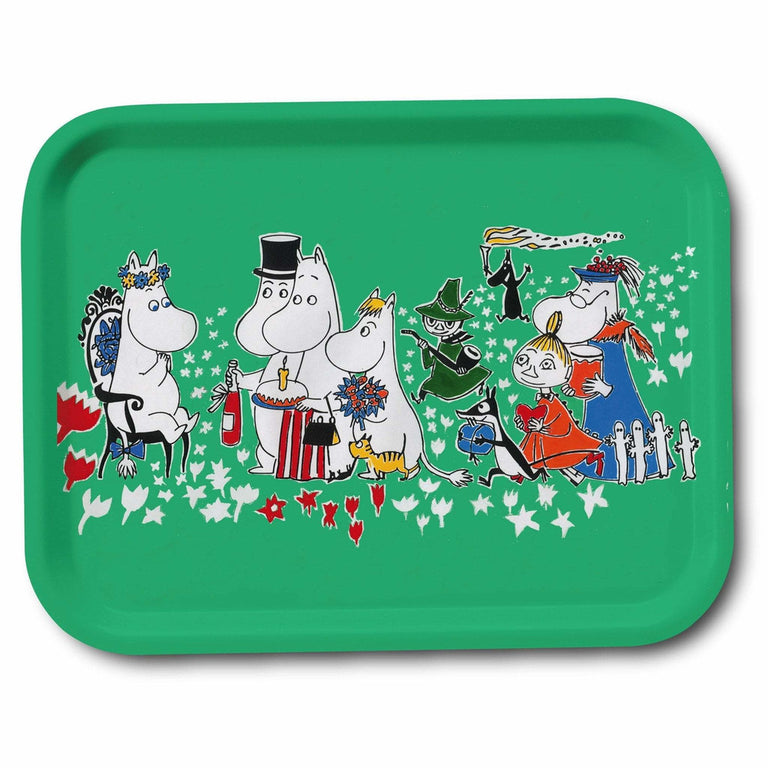 Birthday tray 27 x 20 cm - The Official Moomin Shop