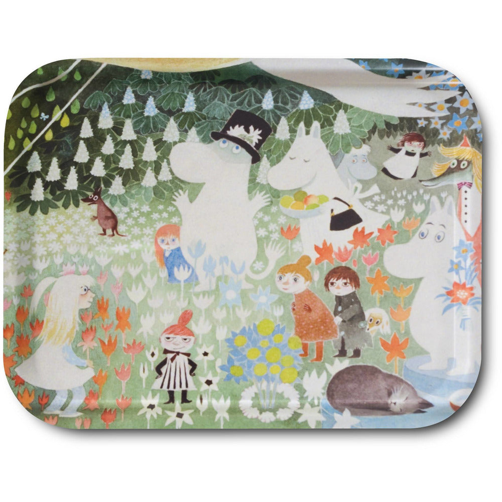 Dangerous Journey tray 27 x 20 cm - The Official Moomin Shop
