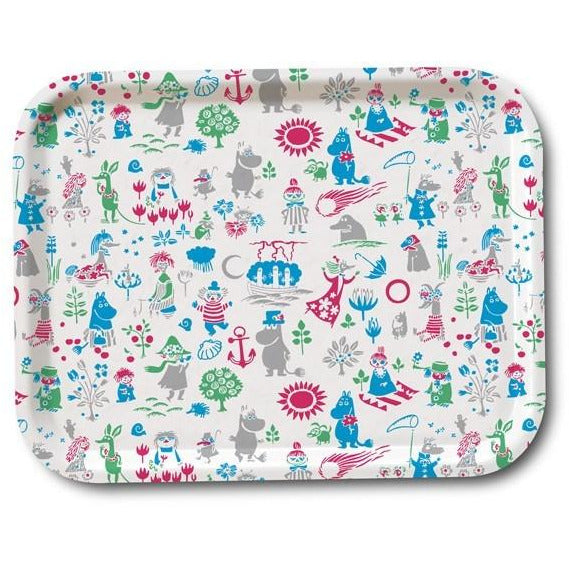 Moomin pattern tray 36 x 28 cm - The Official Moomin Shop
