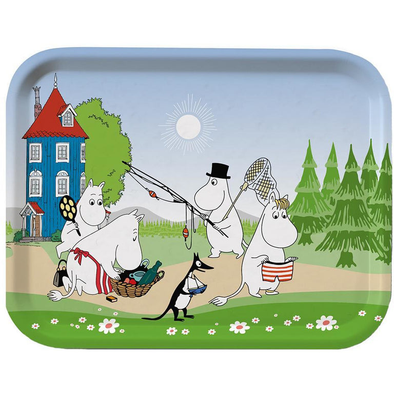 "Moomin ""Summer"" Tray 27 x 20 cm - Opto Design - The Official Moomin Shop"
