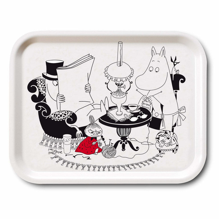 Moominpappa Reading tray 27x20cm - The Official Moomin Shop