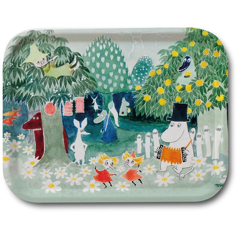 Moomin Finn Family Moomintroll Tray - Opto Design - The Official Moomin Shop