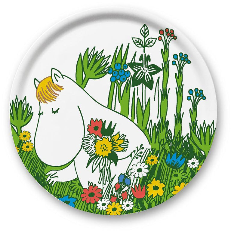 Snorkmaiden Summer tray Ø 31 cm - The Official Moomin Shop