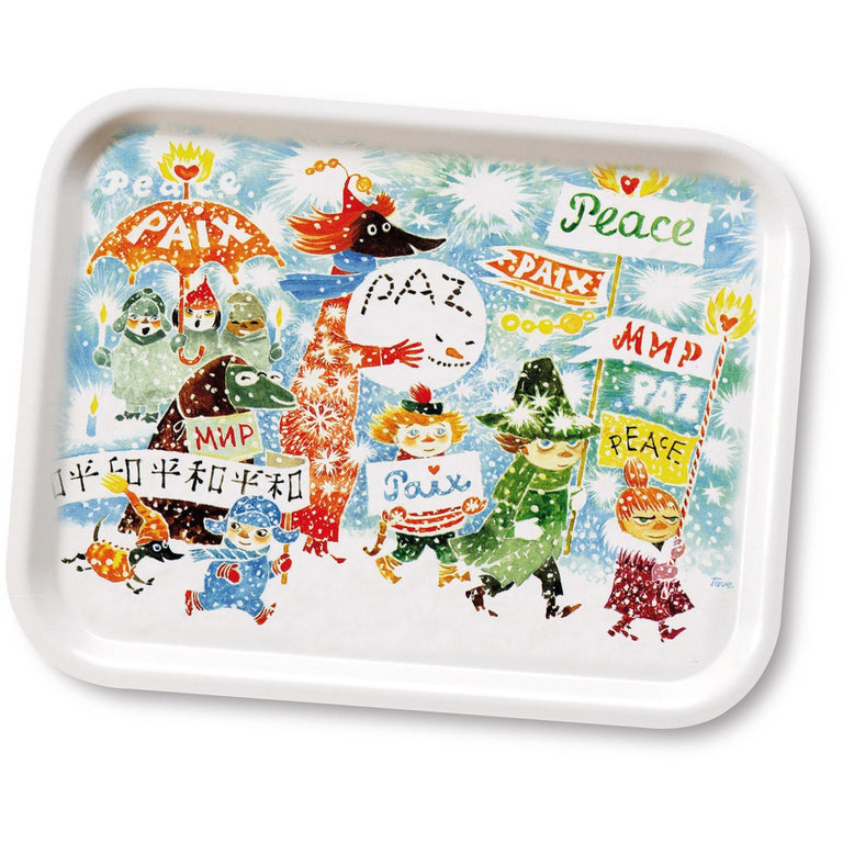 Unicef/Peace tray 27x20cm - The Official Moomin Shop