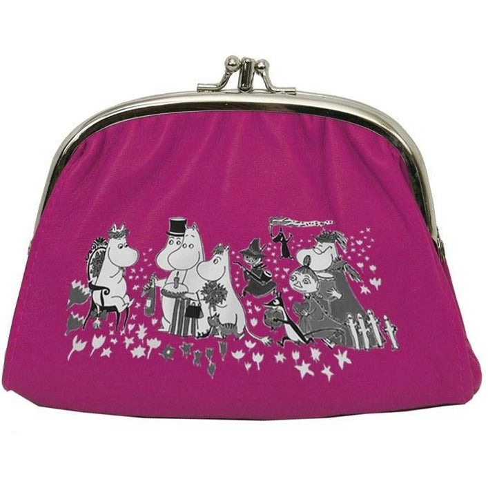 Moomin pink small purse - The Official Moomin Shop