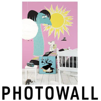 Moomin Wallpapers and canvas products by Photowall