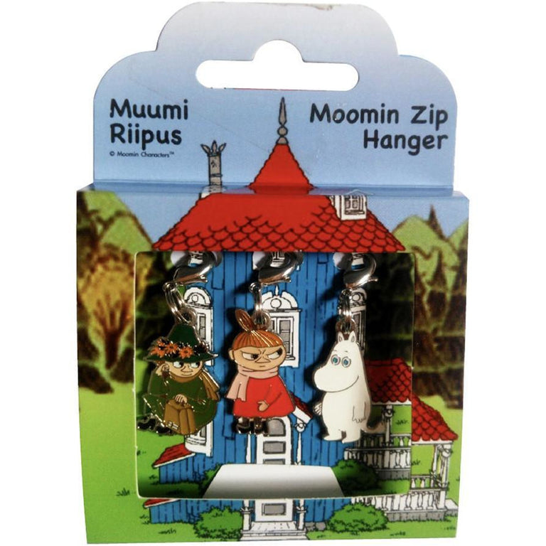 Moomin Zip Hanger 3-set - TMF Trade - The Official Moomin Shop