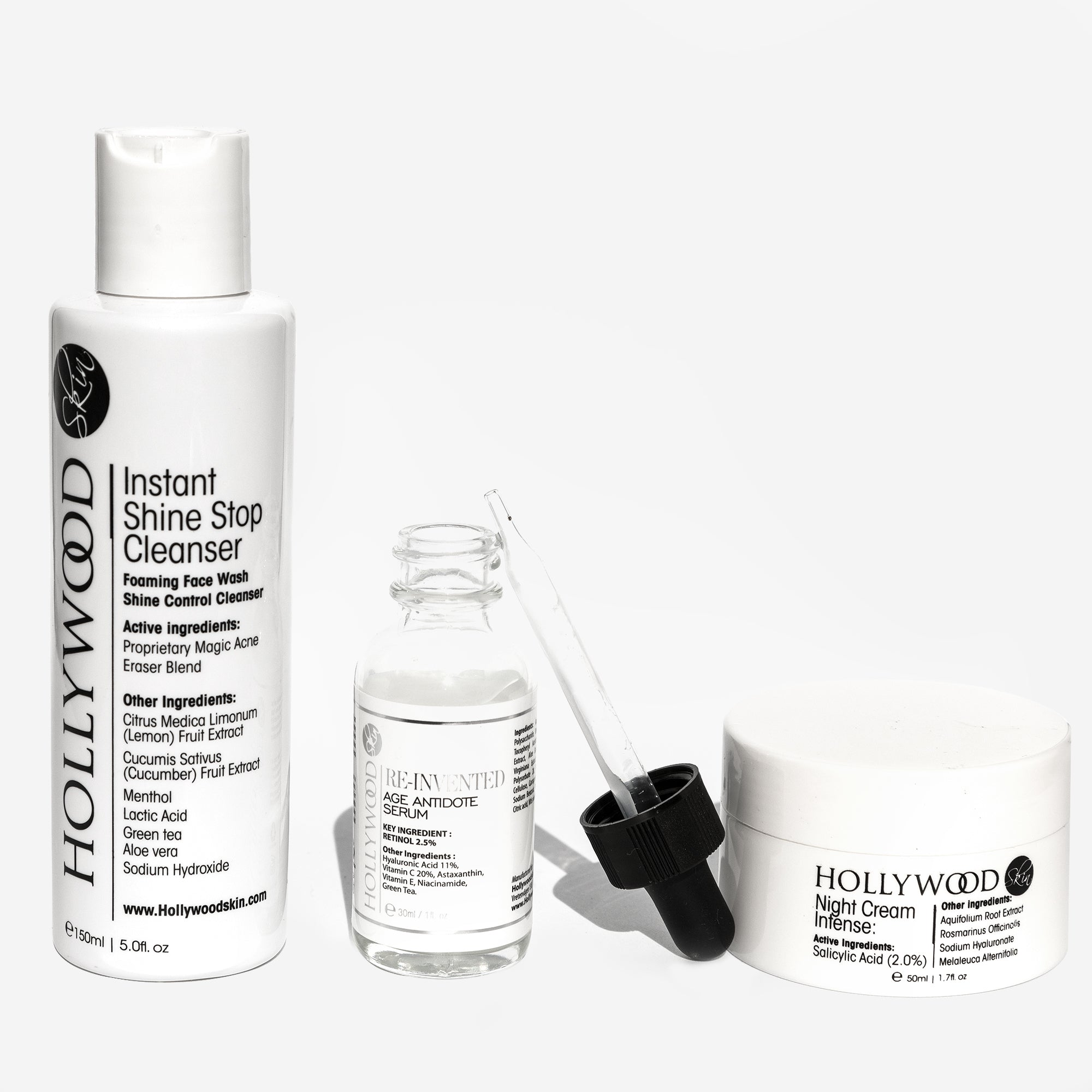 PM Glow Routine 3-Step glow boosting & anti-aging kit