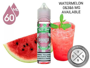 DINNER LADY - TUCK SHOP - WATERMELON SLICES - 60ML