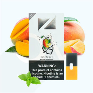 ZIIP Pods for JUUL Devices ICED MANGO