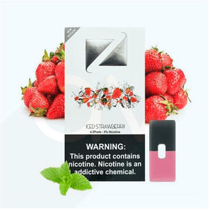 ZIIP Pods for JUUL Devices ICED STRAWBERRY