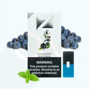 ZIIP Pods for JUUL Devices ICED BLUEBERRY
