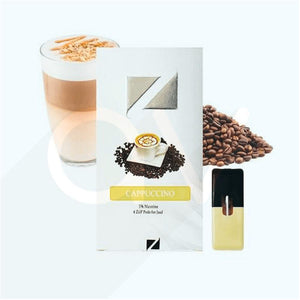 ZIIP Pods for JUUL Devices CAPPUCCINO