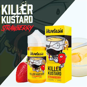 Killer Kustard Strawberry 30ml Vapetasia 48MG