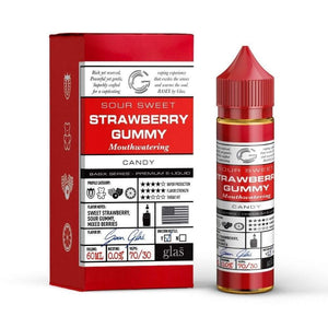 GLAS VAPOR Basix - Strawberry Blast 60ml Vape Juice