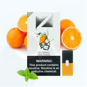 ZIIP Pods for JUUL Devices ICED ORANGE