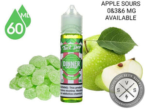 DINNER LADY - TUCK SHOP - APPLE SOURCE  - 60ML