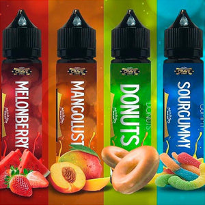 Crave E-Liquids 60ml NEW