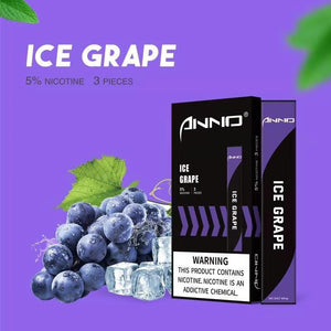 ANNO MINI 280mAh Disposable Pod Kit - Ice Grape