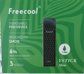 FREECOOL YSTICK DISPOSABLE POD DEVICE - MINT