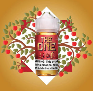 The One Apple Cinnamon Donut Milk E-Liquid by Beard Vape Co. 100ml