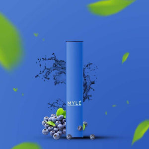 MYLE DISPOSABLE BLUEBERRY - 3 PCS IN EACH PACK!