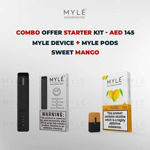 Myle Starter Kit Combo Offer - Myle Device + Sweet Mango 4 Pods