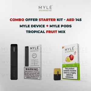 Myle Starter Kit Combo Offer - Myle Device + Tropical Fruit Mix 4 Pods