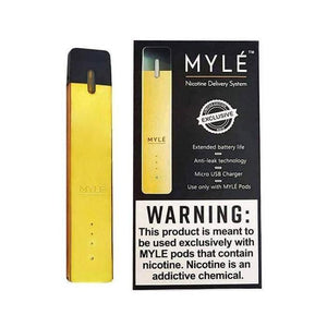 MYLE Ultra Portable Pod System (Gold Limited Edition)