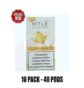 Myle Pound Cake Flavor - 10 packs