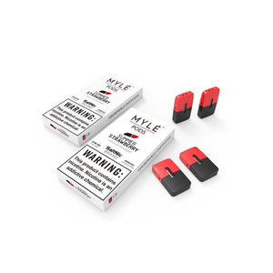 MYLE Replacement Flavor Pods - 4 Pods - Summer Strawberry