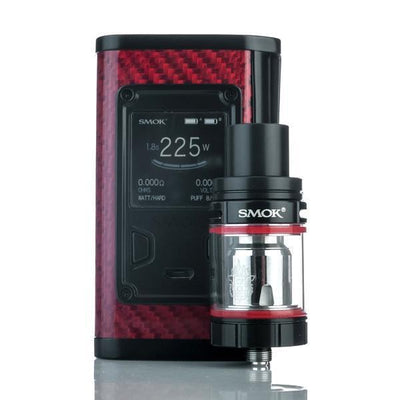 SMOK MAJESTY 225W TC AND TFV8 X-BABY FULL KIT +  FREE EJUICE