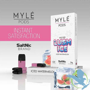 MYLE Replacement Flavor Pods - 4 Pods - Lush Ice