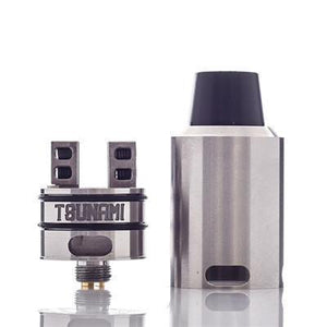 AUTHENTIC GEEKVAPE TSUNAMI TWO POST RDA - Silver