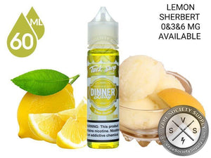 DINNER LADY - TUCK SHOP - LEMON SHERBERT  - 60ML