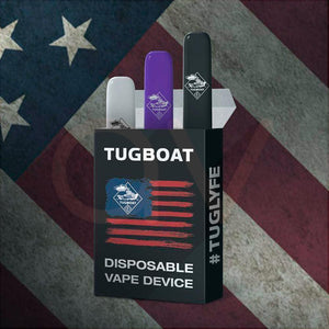 TUG BOAT VAPE Tobacco Ultra Portable and Disposable Vape Device