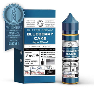 GLAS VAPOR Basix - Blueberry Cake 60ml Vape Juice