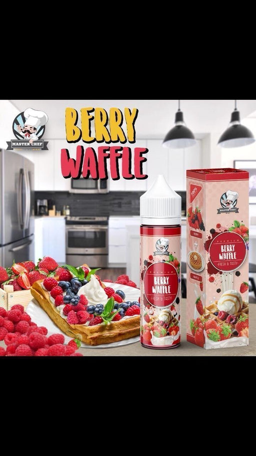 Berry waffles by master chef 60ml