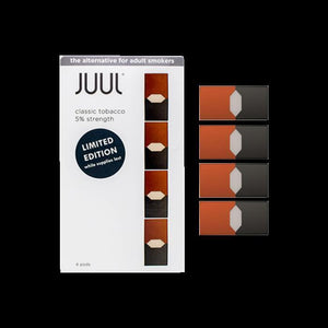 JUUL classic tobbaco Pods (Authentic - Verified by JUUL) NEW BATCH