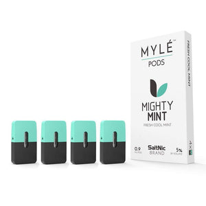 MYLE Replacement Flavor Pods - 4 Pods - Mighty Mint