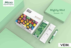 Micko Disposable Vape Kit - Mighty Mint