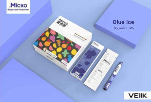 Micko Disposable Vape Kit - Blue Ice