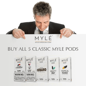 Myle Pods 5 Flavors Combo Pack Offer (20 Pods)