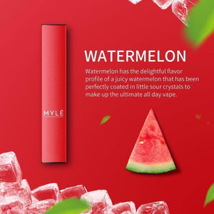 MYLE DISPOSABLE WATERMELON - 3 PCS IN EACH PACK!