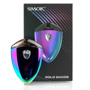 Smok Rolo Badge Ultra Portable System Starter Kit - 250mAh & Refillable 2ml POD