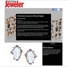Arya Esha Oversized Studs Featured as a Top Showpiece to See