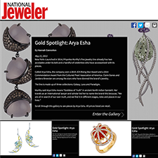 Special Feature on Arya Esha Gold Jewelry