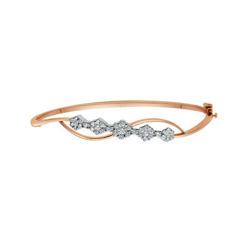 Daytime Diamond Flora Bracelet, in Rose Gold