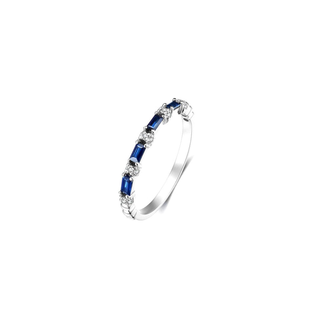 Amie Sapphire Band Ring
