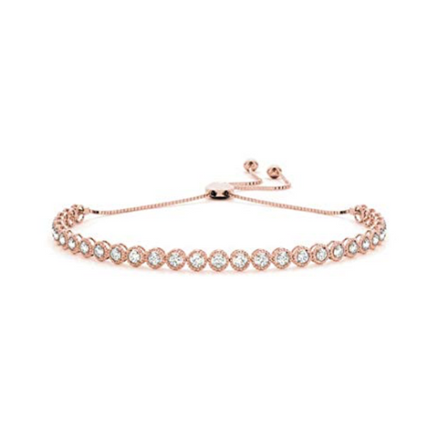 Daytime Diamond Titan Bracelet, in Rose Gold